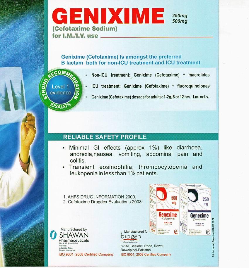 GENIXIME BACK
