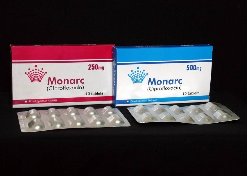 MONARC 250 & 500 MG TAB 3