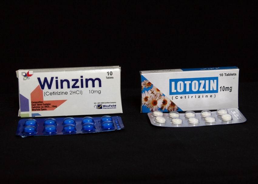 WINZIM & LOTOZIN 10 MG TAB